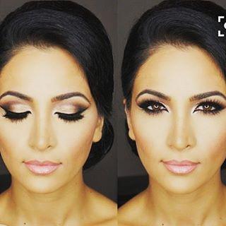 ¡Maquillaje para las novias morenas! ¿A quién le gustó? # # # brebaje #br …