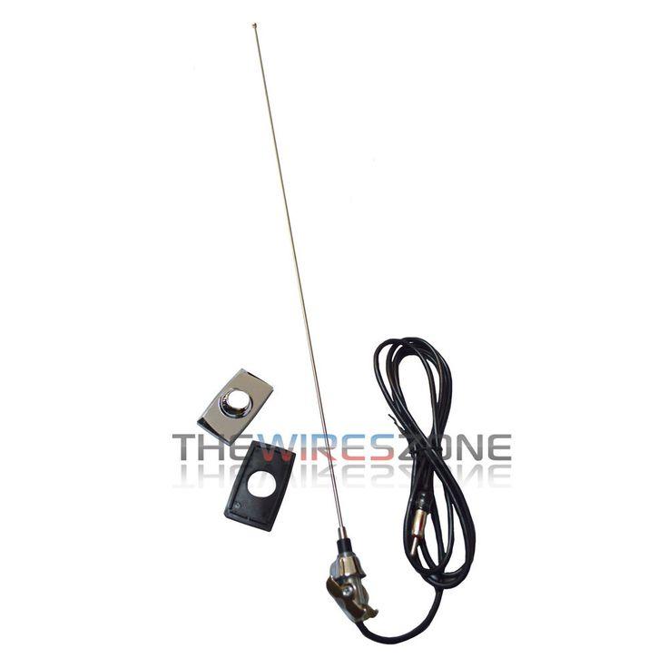 Metra 44-FD80 Replacement Rectangular Base Antenna for Select 1965-1998 Ford #Metra
