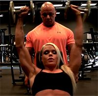 Road to the Arnold: Larissa Reis' Shoulder Workout Muscle and Fitness Hers