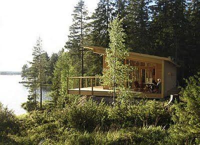 Scandinavian Retreat: Prefab from Sweden - Photo: xhouse.se/August Wiklund Arkitetktkontor