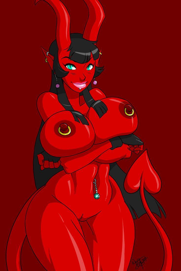 Girl demon naked pussy