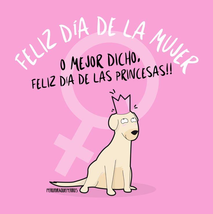 Art by Peromiraqueperros Feliz día de las princesas!!!  #perros #perritos #mascotas #adorable #bonito #regalos #gift #tiendademascotas #perruno #regalomascotas #petlovers #can #canino #peludos #divertido #taza #animales