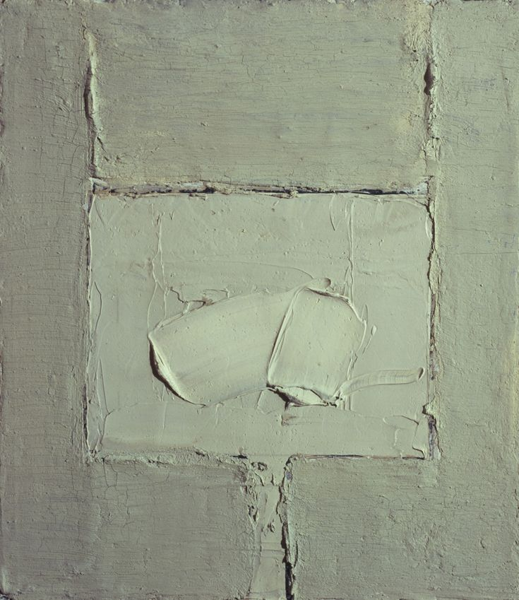 Carlo Mattioli - Senza titolo (Natura morta bianca) - 1965 - coll. privata