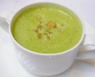 Thermomix Recipes: Asparagus Norwegian Soup with Thermomix