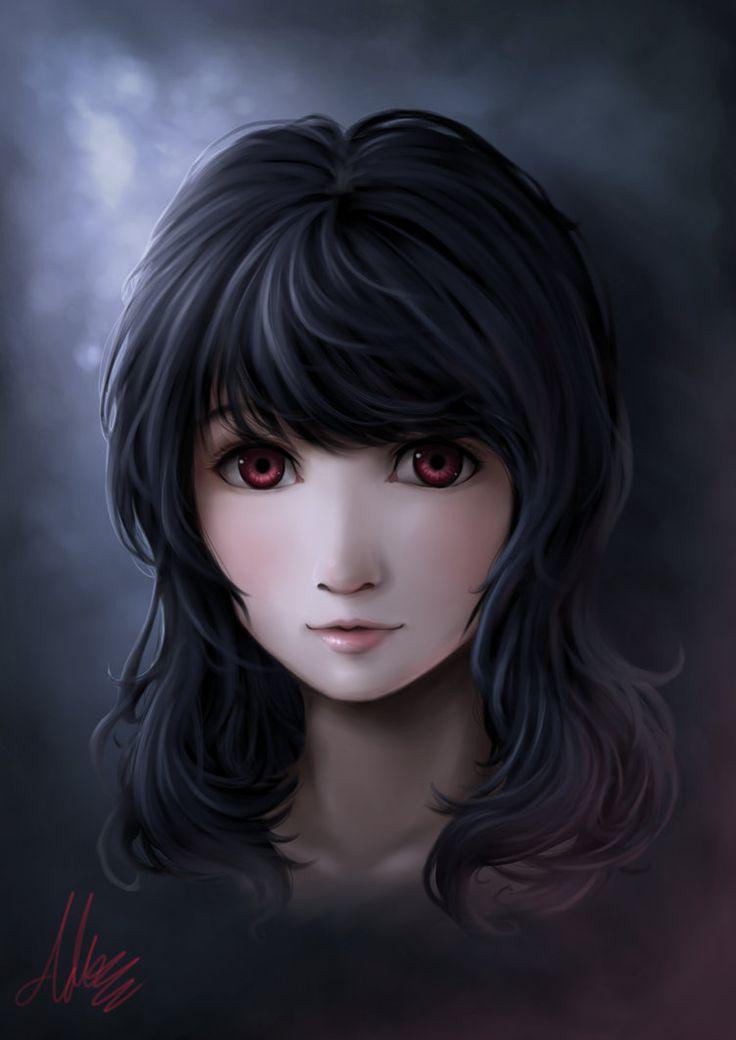 Character Portrait: Risa by Adeshark on DeviantArt