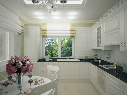 Белая кухня. Кухня