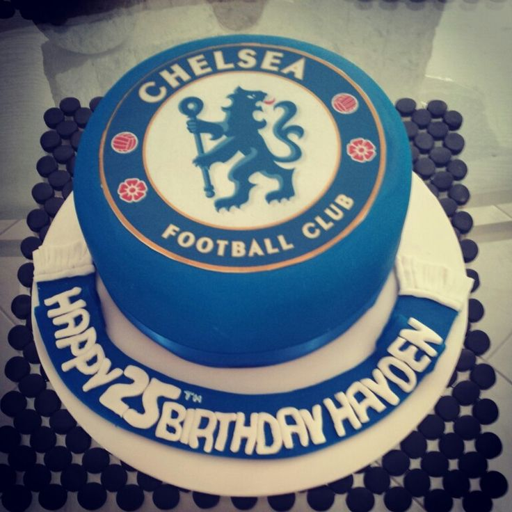 Chelsea Football Club Themed Cake
