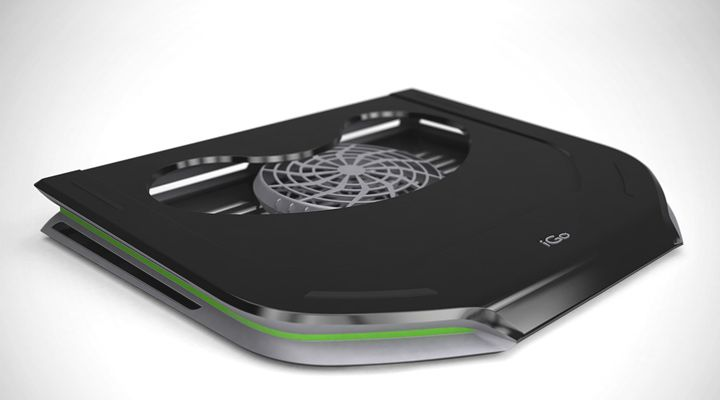 Your cool laptop just got cooler with iGo laptop cooling pad: Design Engineering by Lumium