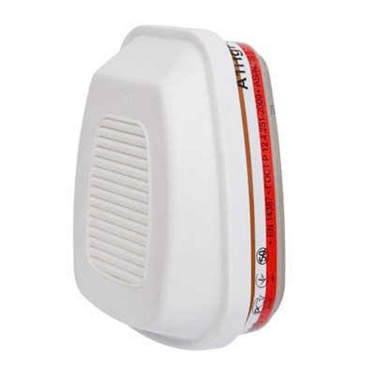 3M Cartridge Filter Masker Gas, Vapour and Particulate Filter, A1HgP3 R, 6096 - 32 EA/Case.  - Melindungi terhadap uap organik (titik didih di atas 65 ° C) gas asam, merkuri dan partikular - Ringan, tahan nafas rendah, seimbang saat dipasang masker - Menyediakan bidang penglihatan yang baik - 3M ™ Bayonet Connection. http://tigaem.com/respirator-masker/2020-3m-catride-fitler-masker-gas-vapour-and-particulate-filter-a1hgp3-r-6096-32-eacase.html  #filtermasker #respirator #3M