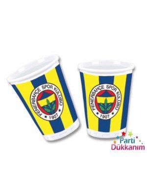 Fenerbahçe Karton Bardak (8 adet)