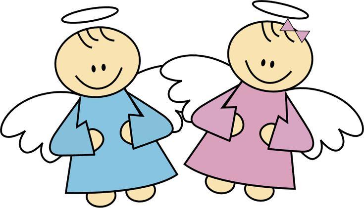 Free vectores angelitos para bautizo - Imagui