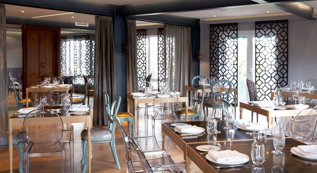 The dining room at Makaron. Photo courtesy of the restaurant.