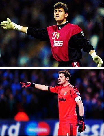Iker Casillas .. Something has never change
