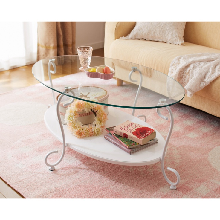 Shabby Chic Glass Coffee Table From Romapri.
