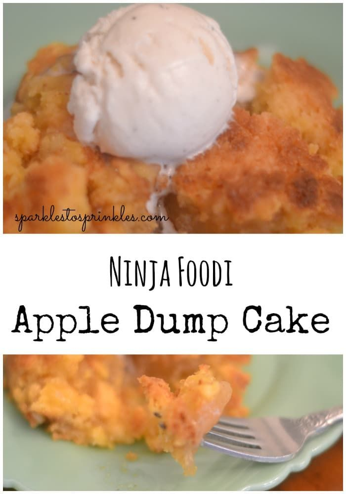 Ninja Foodi Apple Dump Cake Is So Delicious You Will Never