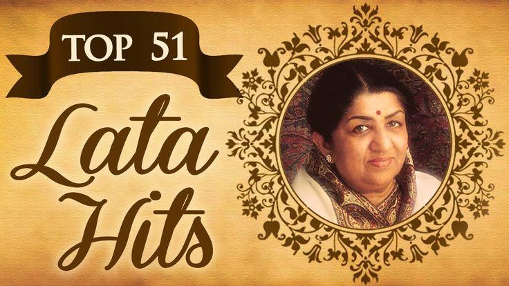 Top 51 Lata Mangeshkar Superhit Song Collection - (HD) Video Jukebox - E...