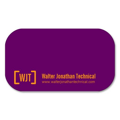 Simple professional purple orange business cards. This great business card design is available for customization. All text style, colors, sizes can be modified to fit your needs. Just click the image to learn more!