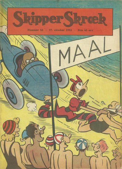 Cover for Skipper Skræk (Aller [DK], 1938 series) #43/1953