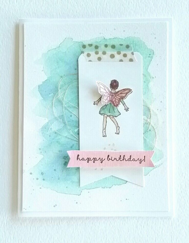 Another Easy Card Using Fairy Celebration From Isnt She Adorable
