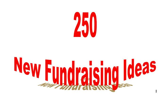 265 New Fundraising Ideas for Non Profits Online Fundraising Website  265 New Fundraising Idea