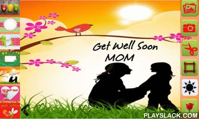 Get Well Soon Greetings Maker  Android App - playslack.com ,  Choose from predefined templates to create Get Well Soon Greeting cards, 100+ photo effects, 100+ stickers and messages. You can share Greetings, stickers or messages with friends and family on social apps like Whatsapp, Twitter, G+, Facebook, hike, Line, Wechat and others.It works without internet too.You can save or share the final photo.Unique features:1. All work in single screen.2. Full view canvas.3. Share Stickers to social…