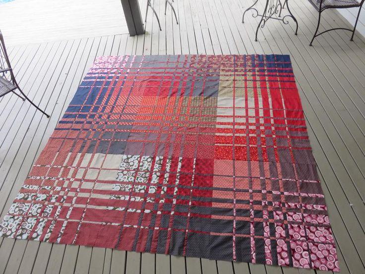 Convergence quilt by Liz Scott