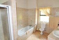 A bathroom in the one-star Satara Rest Camp | Kruger National Park, South Africa