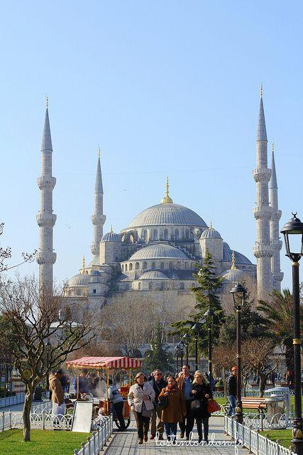 la mosquée bleu sous le soleil (enfin)