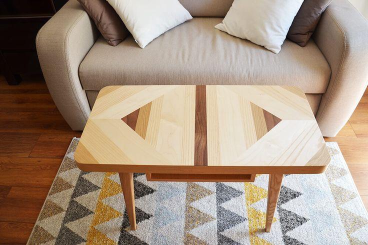 © Paulina J. Rutkowska • Karmins   Wood and Paper - Stolik kawowy mini Puzzle More info: http://woodandpaper.pl/produkt/stolik-kawowy-mini-puzzle/