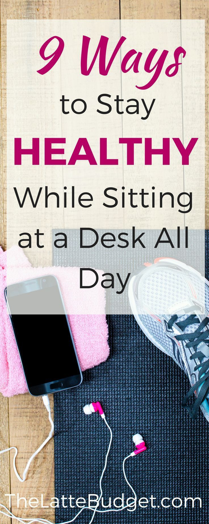 Fitness, healthy, wellness, lose weight, office job, corporate, personal finance, money, workout