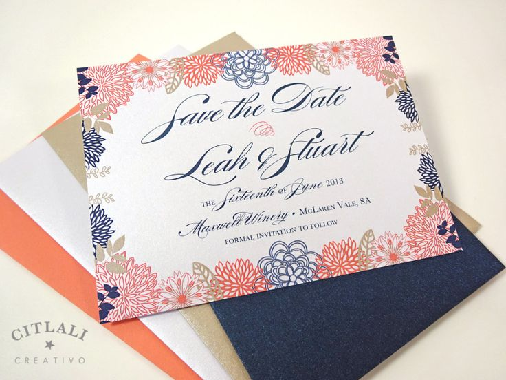 The 83 best Save the dates - Citlali Creativo images on Pinterest