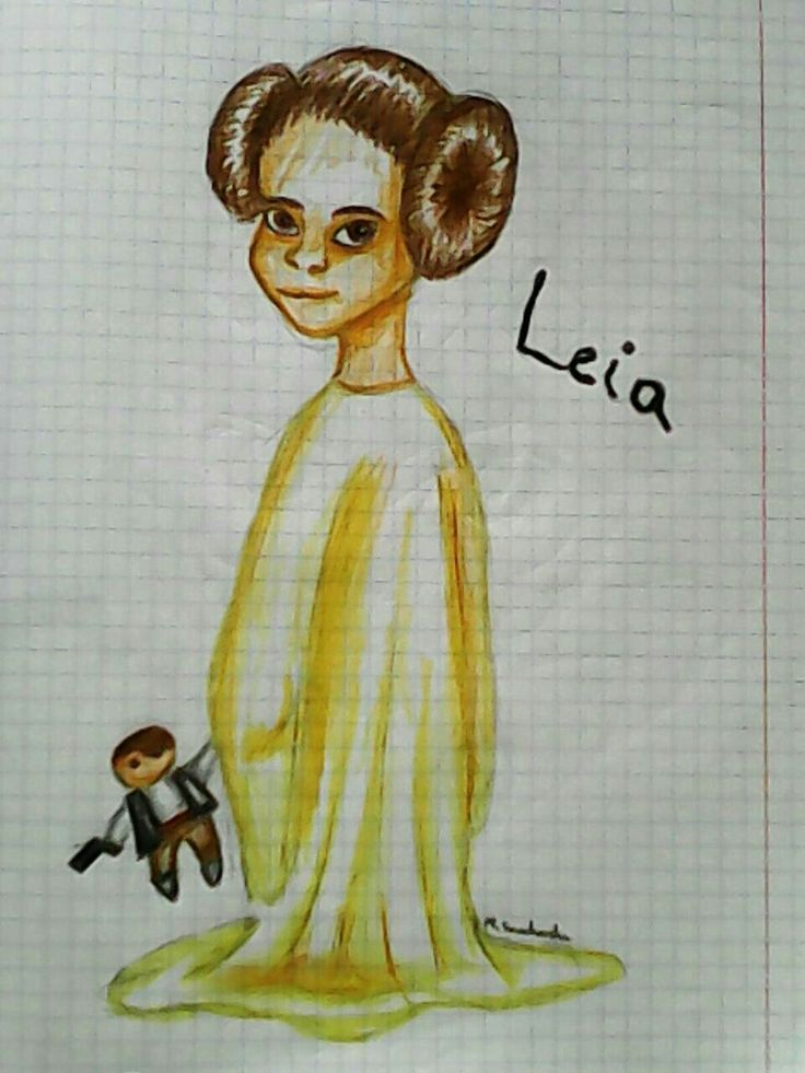 Little Leia Organa/Star Wars