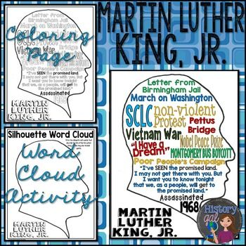 196 best Learning with Martin Luther King images on Pinterest - copy coloring pages of dr martin luther king jr