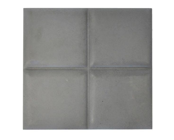 Płytka 3D Pillow - Antracytowa - zdjęcie od Bettoni - Beton Architektoniczny - Jadalnia - Styl Nowoczesny - Bettoni - Beton Architektoniczny
