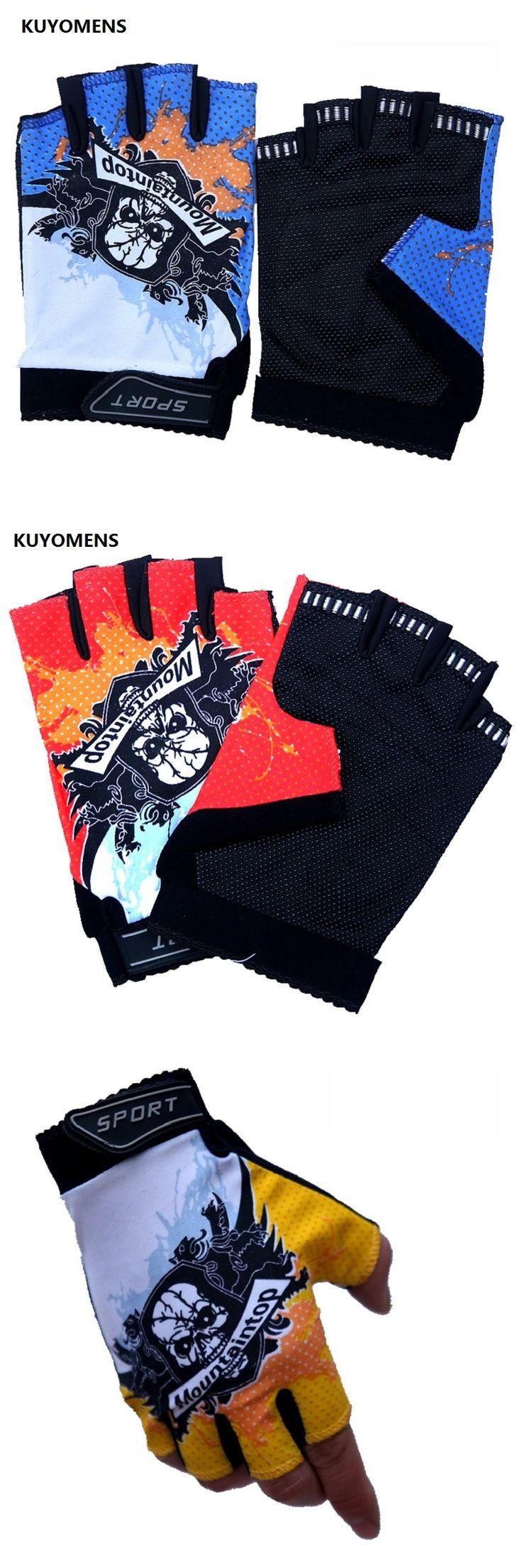 KUYOMENS Unisex Sports Fitness Gloves Exercise Gym Gloves Half Finger Gloves Multi function Glove