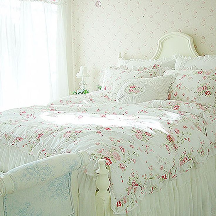 shabby chic bedroom furniture comforter romantic bedding twin beds for sale sets