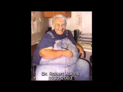 """▶ Dr McDougall interviews Dr Atkins: High Carb vs Low Carb - YouTube... I had never seen Dr. Atkins """"BEFORE PICTURE"""""""