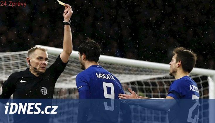 Zatracené video. Místo penalty žlutá a Anglie se ptá: co je to za zmatky?