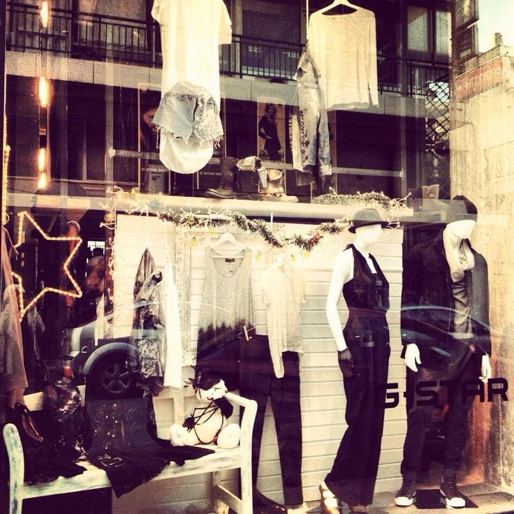 Ghost tee & amazonian cardigan featuring in Room96 window!! https://www.facebook.com/NizalFashion