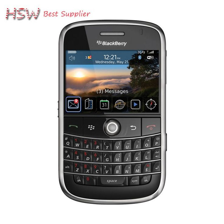 directly Selling 100% Original Unlocked 9000 Original Blackberry Bold 9000 Mobile Phone GPS WIFI 3G Cell Phone Refurbished
