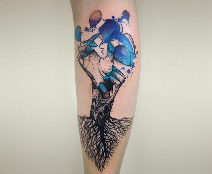Best Tattoos Masculinas AMAZONA TATTOO Images On Pinterest - Polish artist creates elegant animal tattoos finished in vibrant colours