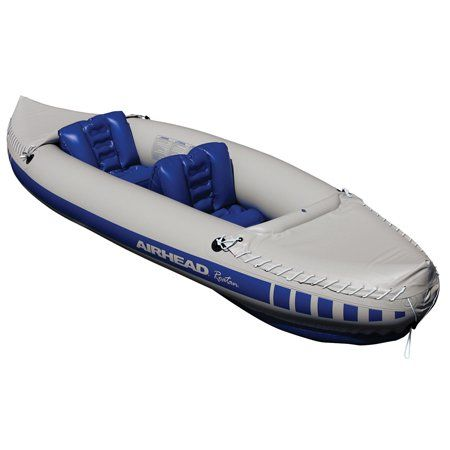 Airhead Roatan Inflatable 2-Person Kayak, Gray