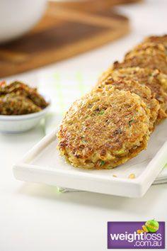 Healthy Entertaining Recipes: Mini Rice Cakes. #HealthyRecipes #DietRecipes #WeightlossRecipes weightloss.com.au