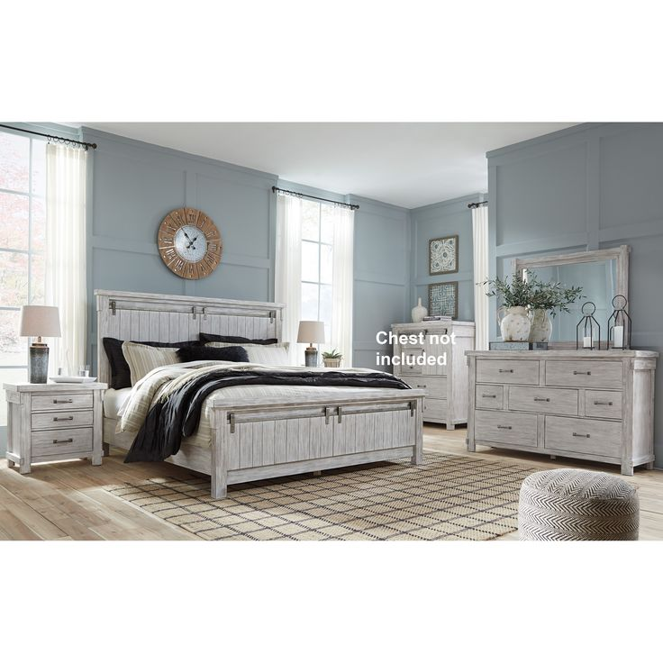 Best Brashland King Bedroom Group By Signature Design By Ashley 400 x 300