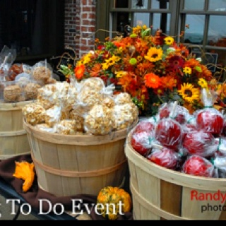 Fall themed favors we did for a bride. Great for New England wedding in October.