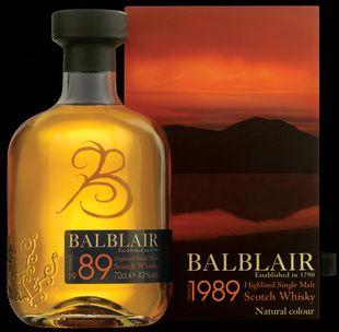 Balblair 1989 from Whisky Please.