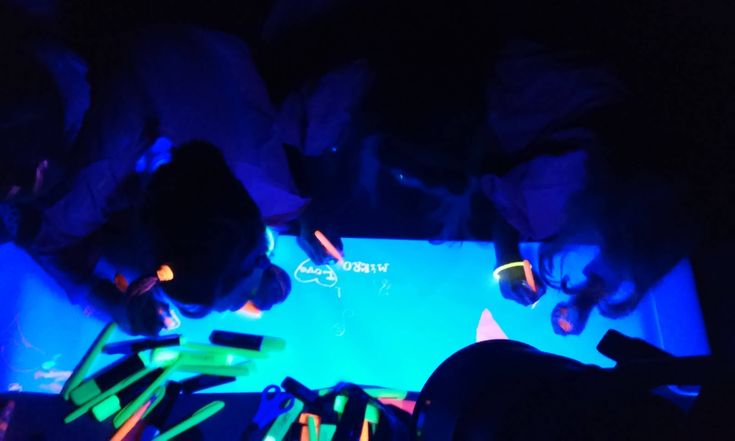 fluo party 1