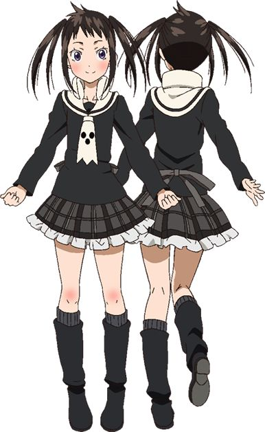 Tsugumi Soul Eater NOT! I'd probably cosplay as her, except if wear the Deathbucks café uniform!