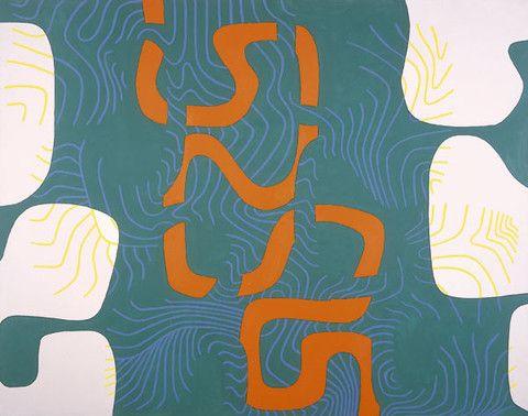 Bryan Wynter, Meander II 1967 – Modern British & Contemporary British Fine Art Gallery