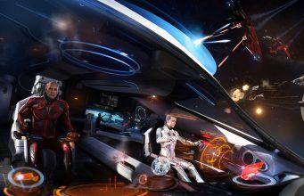 Elite Dangerous Update Will Soon Let You and 3 Friends Co-pilot Interstellar Spacecraft